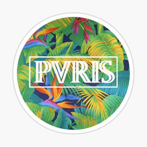 PVRIS Tropical Logo Sticker