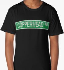 008 Copperhead Road street sign Long T-Shirt