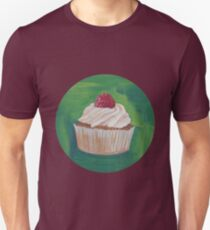 Cupcake with Raspberry  Unisex T-Shirt