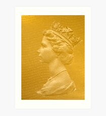 God save the Queen! Art Print