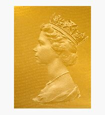 God save the Queen! Photographic Print