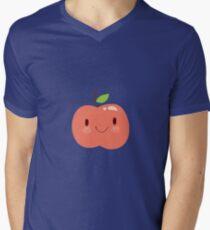 Happy Apple Men's V-Neck T-Shirt