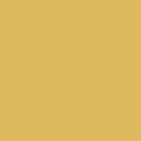 Misted Yellow Earth Metallic Solid Pantone Color Of The Year 2017 By THREAD TROUBLE
