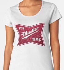 Müller-Zeit - Glitter Frauen Premium T-Shirts