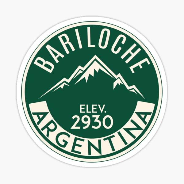 ESQUÍ BARILOCHE ARGENTINA APRES SKI MOUNTAINS Pegatina