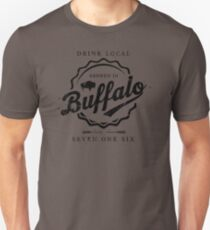 Brewed In Buffalo Bottle Cap T-Shirt