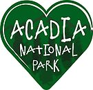 ACADIA NATIONAL PARK MAINE LOVE OUTDOORS NATURE HIKING CAMPING CAMPER LAPTOP by MyHandmadeSigns