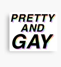 pretty and gay Canvas Print
