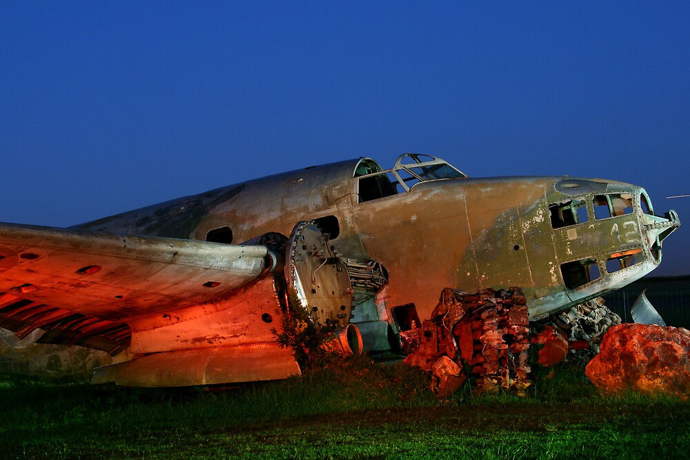 Old Aircraft 2 by rozi