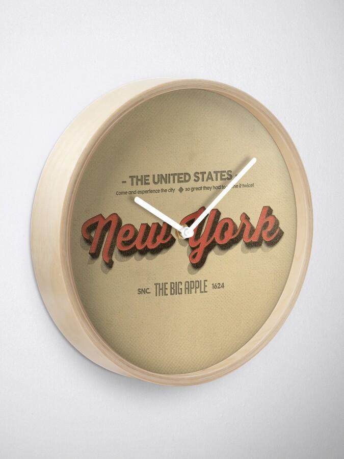 Alternate view of Vintage New York 1 Clock