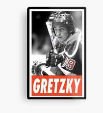 -SPORT- Gretzky Metal Print