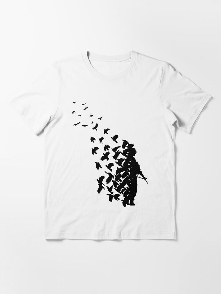 Alternate view of Banksy Birds Essential T-Shirt