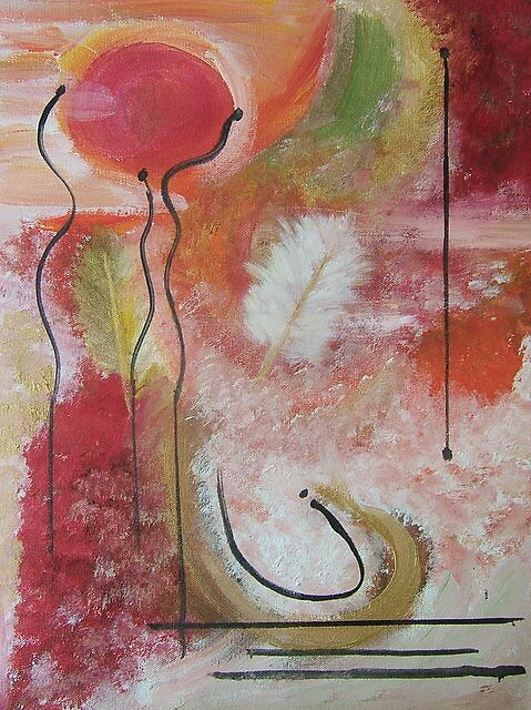 Abstract number 3 by Kelli Maier