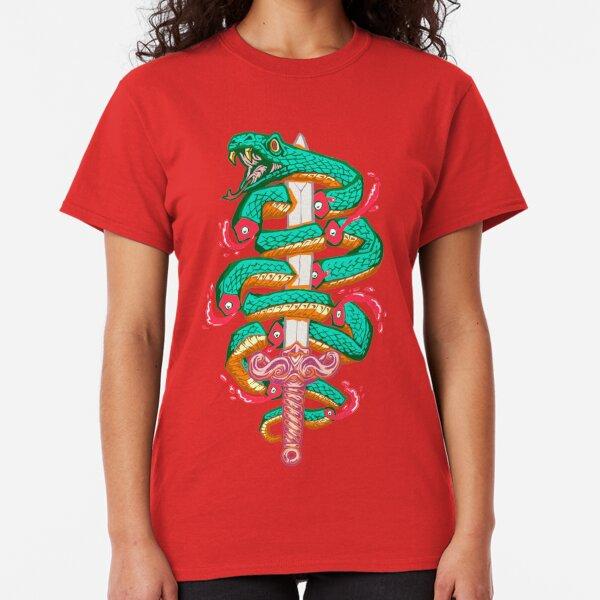Schlangenschlitzer Classic T-Shirt