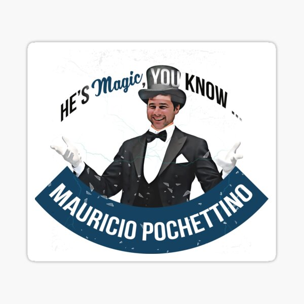 He's MAGIC, You Know Sticker