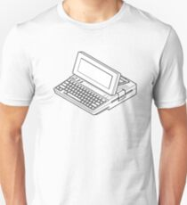APple //c with an LCD monitor. T-Shirt