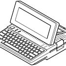 APple //c with an LCD monitor. by Zern Liew