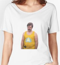 Ron Swanson Yoga Pants Women's Relaxed Fit T-Shirt