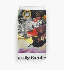 Wassily Kandinsky Red Blue Yellow 1925 Duvet Cover