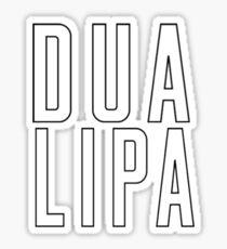 Dua Lipa Sticker