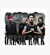 One Ok Rock Photographic Print