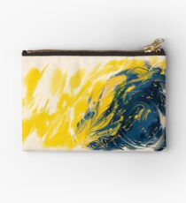 Abstract - Yellow & Blue Studio Pouch