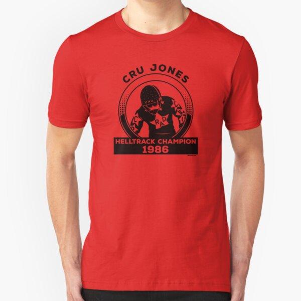 Cru Jones - Helltrack Champion 1986 Slim Fit T-Shirt