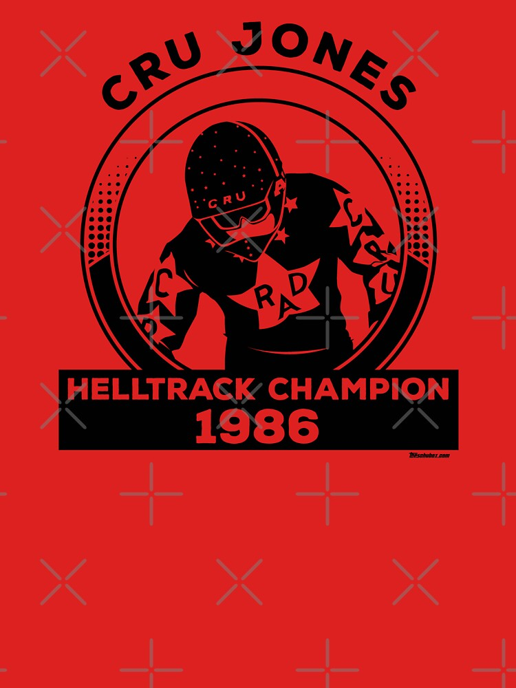 Cru Jones - Helltrack Champion 1986 by mark5four0