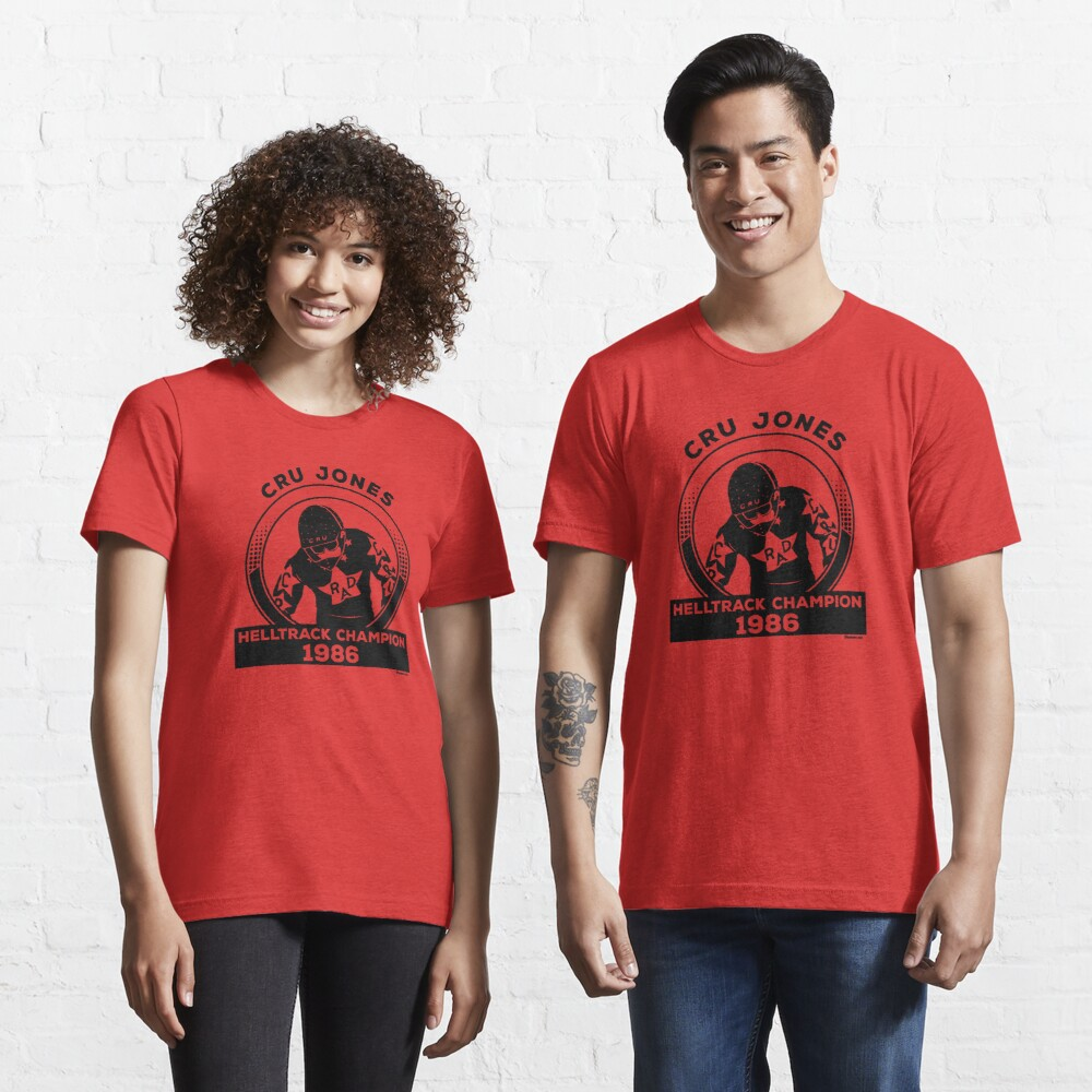 Cru Jones - Helltrack Champion 1986 Essential T-Shirt