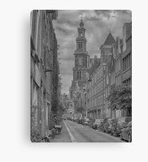 Westertower in Amsterdam, Netherlands Canvas Print