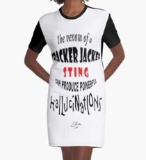 Tracker Jacker quote Graphic T-Shirt Dress
