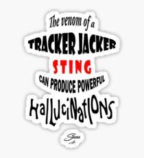 Tracker Jacker quote Sticker