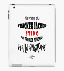 Tracker Jacker quote iPad Case/Skin