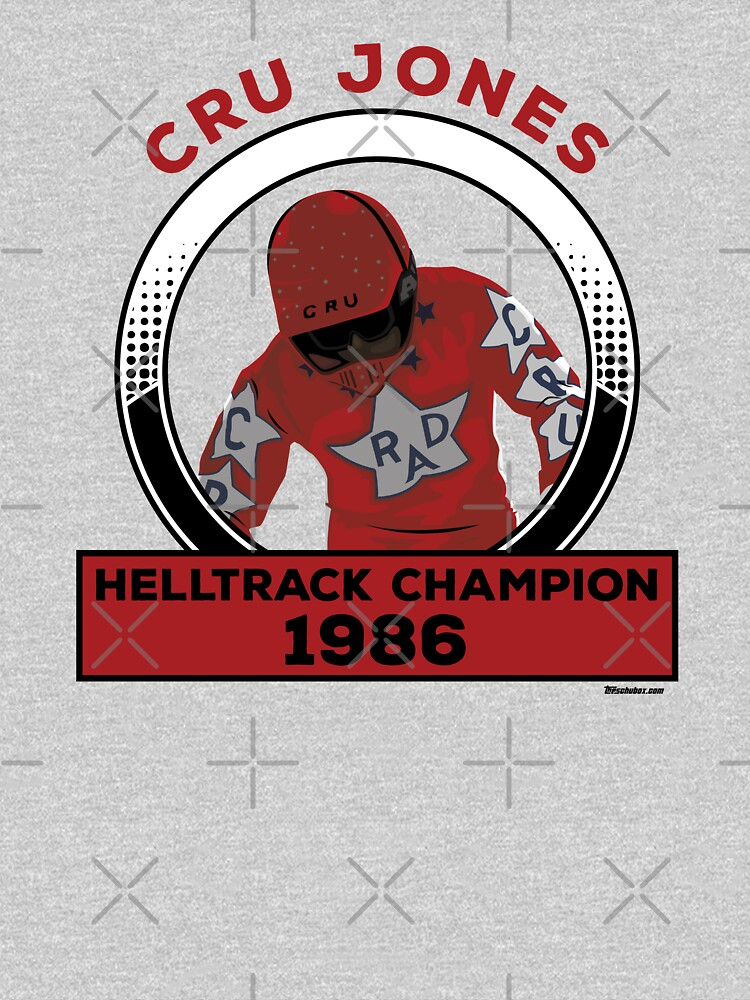 Cru Jones - Helltrack Champion  FULL COLOR by mark5four0