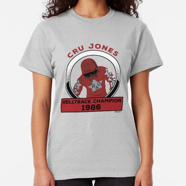Cru Jones - Helltrack Champion  FULL COLOR Classic T-Shirt