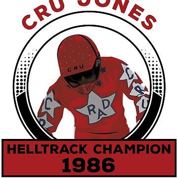 Cru Jones - Helltrack Champion  FULL COLOR by mark5four0