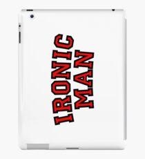 Ironic Man iPad Case/Skin