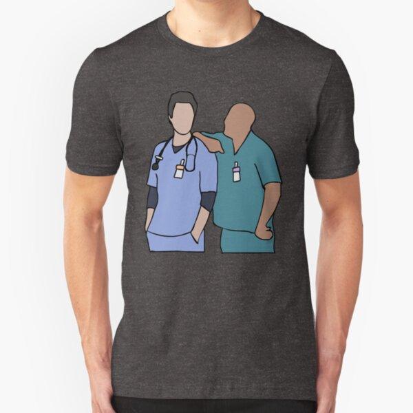 JD and Turk Scrubs Slim Fit T-Shirt