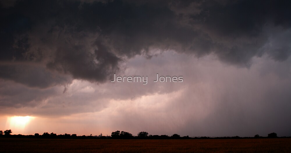 Crepuscular rays! by Jeremy  Jones