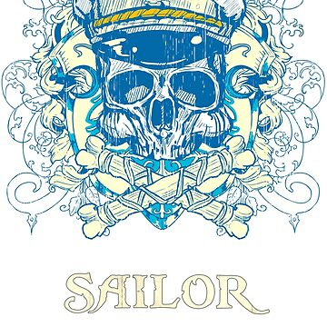 Sailor Skull by LeNew