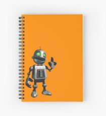 Inquisitive and Thoughtful Spiral Notebook