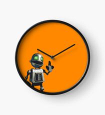 Inquisitive and Thoughtful Clock