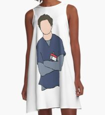 JD Scrubs A-Line Dress