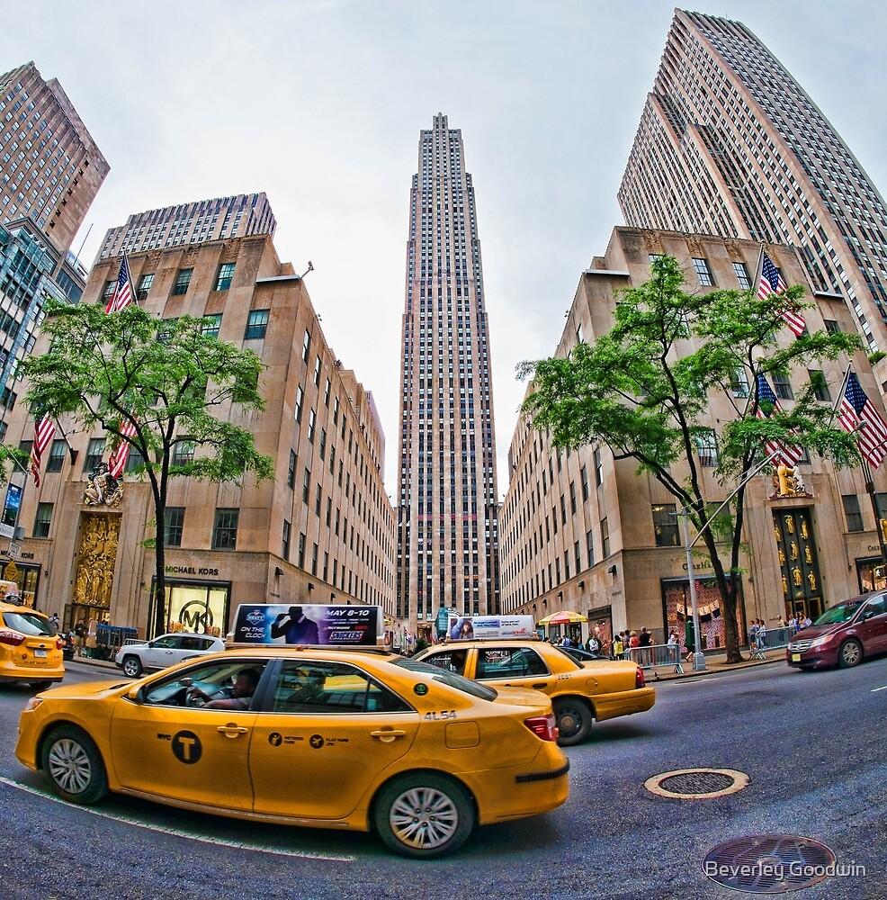 Rockefeller Center, New York City by Beverley Goodwin