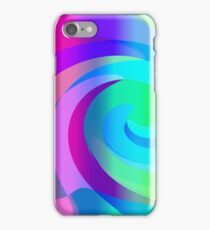 Psychedelic wave iPhone Case/Skin
