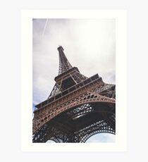 Lámina artística Torre Eiffel - París