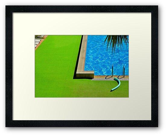 Swimming-pool by Silvia Ganora