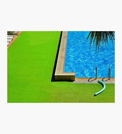 Swimming-pool Photographic Print