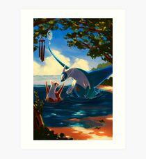 High Tide Art Print