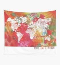 Inspire And Be Inspired  Wall Tapestry